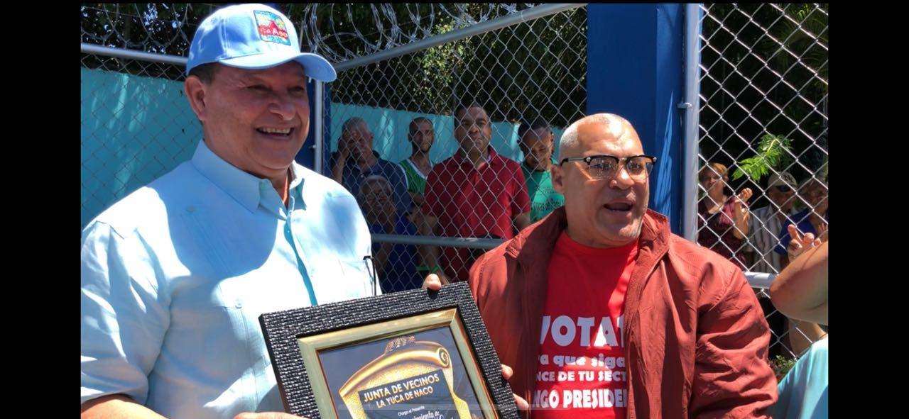 CAASD entrega red de distribución de agua potable en barrio La Yuca
