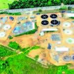 La planta de tratamiento que la Caasd construye en La Zurza
