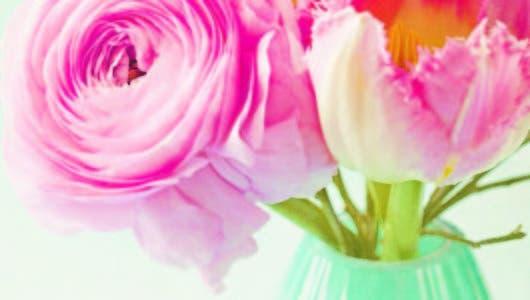 Floreros súper primaverales