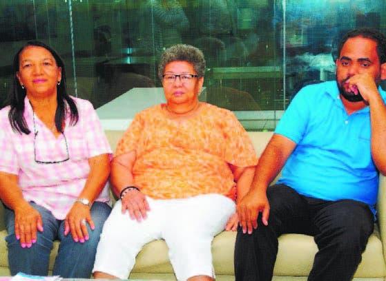 Lourdes Rodríguez, María Alcántara y Aneudy Checo.