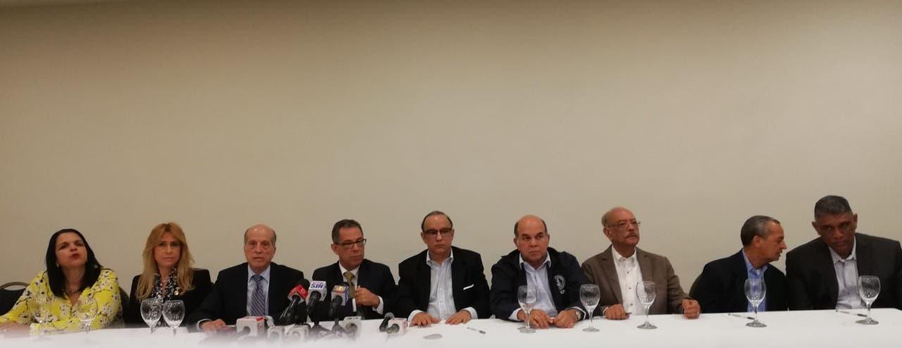 Oposición dice no aceptará imposición en la aprobación de las leyes electoral y de partidos