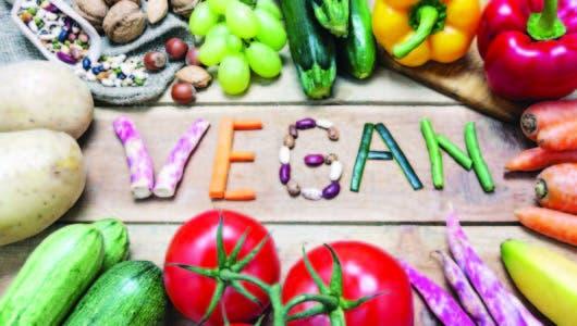 Las desventajas de la dieta  vegana