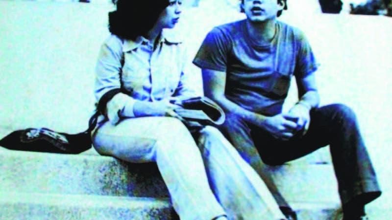 Vítico y Sonia en esos días. La misma fue un regalo del periodista Juan Bolívar Díaz, sin que ninguno