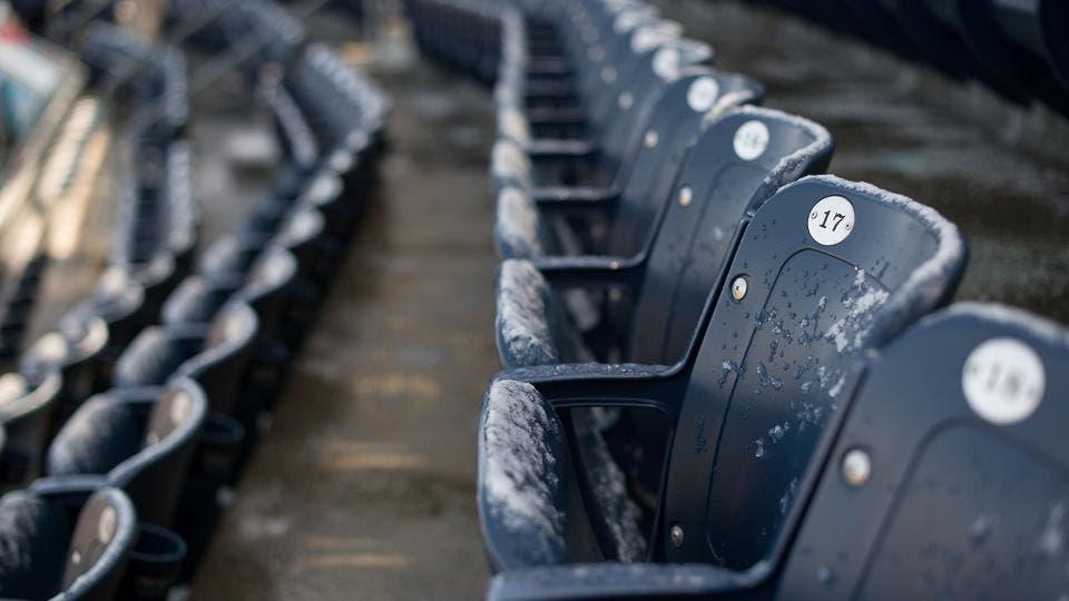 Suspenden por nieve el juego  de hoy entre los Rays y los Yankees