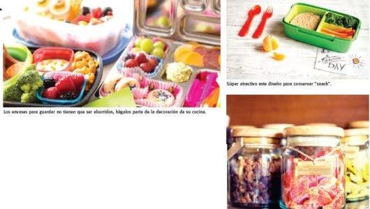 Utensilios para conservar  snacks