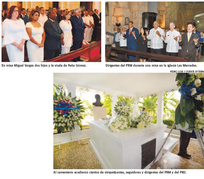 Con  actividades  PRD y PRM  recuerdan a  Peña Gómez
