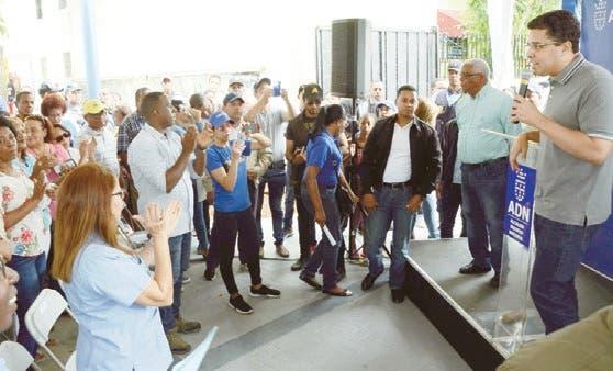 Alcaldía ADN inaugura remozado parque Guachupita