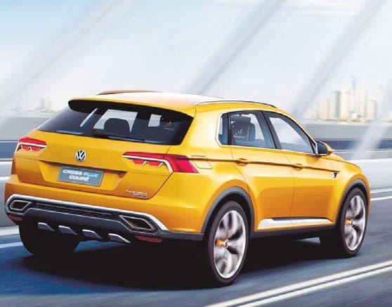 Volkswagen Tiguan Coupé: llegará en 2019
