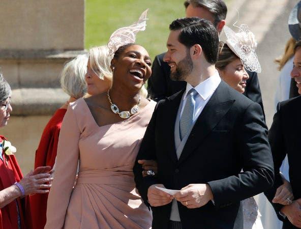 21. Serena Williams and y su esposo Alexis Ohanian