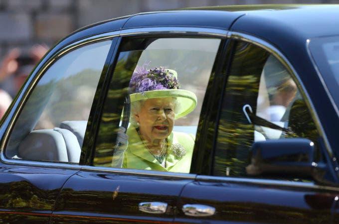 24. Reina Elizabeth a su llegada