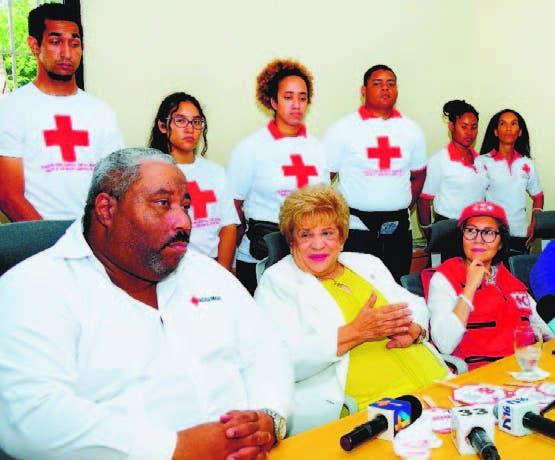 Cruz Roja  trabaja para  crear  cultura de  donar sangre en RD