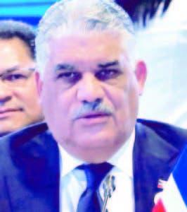 Canciller Miguel Vargas.