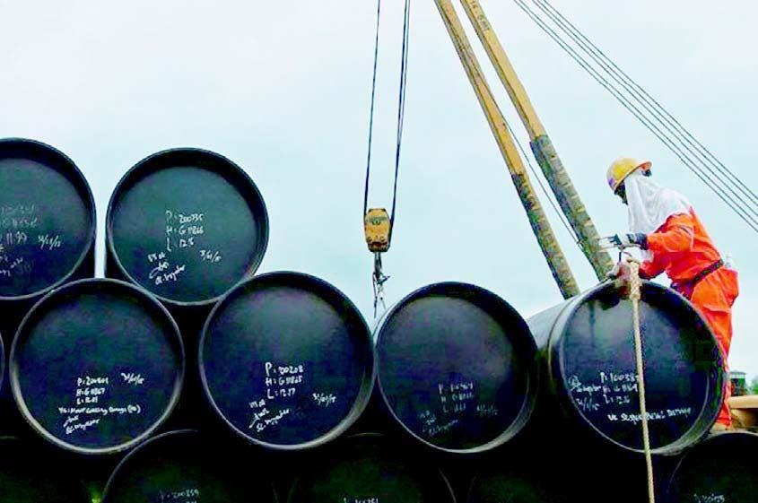 Petróleo de Texas se coloca en 72.76 dólares, el más alto desde noviembre de 2014