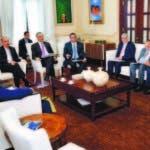El presidente Medina recibió informaciones de avances de trabajos.
