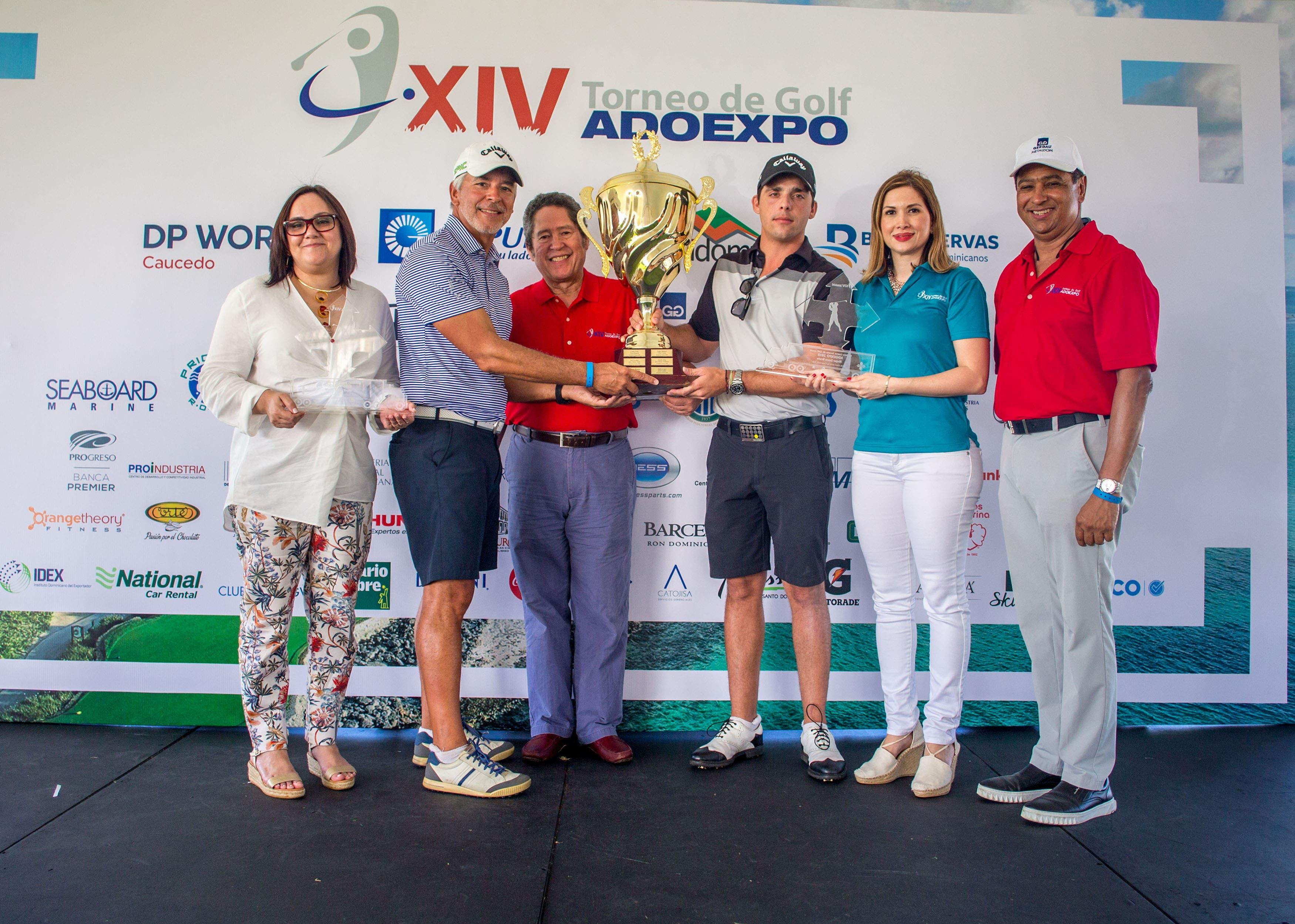 Entusiasmo e integración en XIV Copa Golf ADOEXPO 2018, en Punta Cana Resort