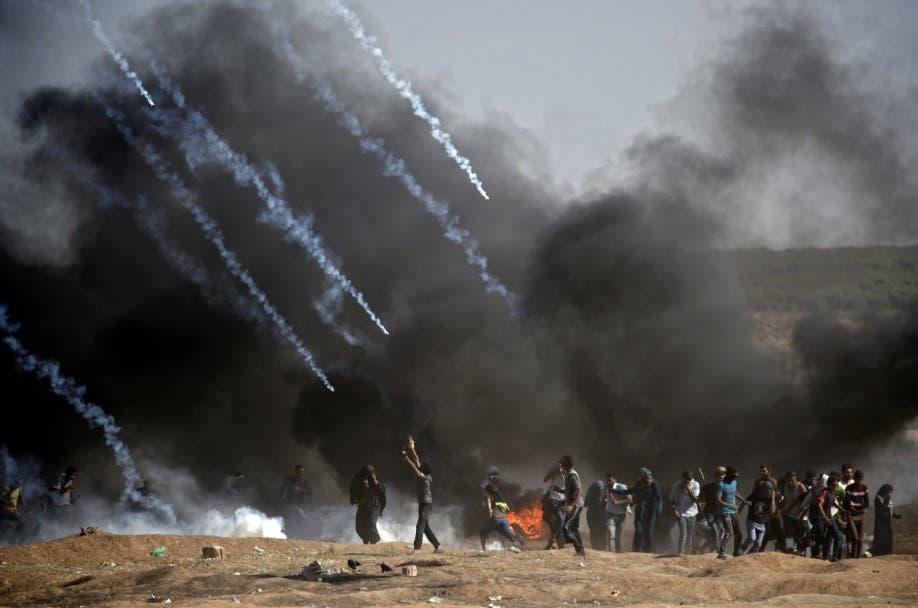 Más de 50 muertos en Gaza en protestas por el traslado de la embajada de EEUU