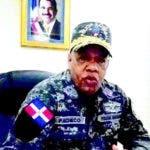 General Pacheco Garabito, director regional Sur de la Policía