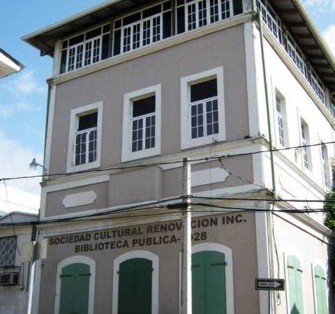 Local de la Sociedad cultural Renovación.