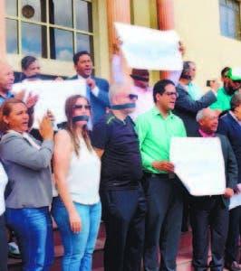 Periodistas reclaman más seguridad Palacio  Justicia Santiago