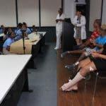 Pacientes del Hospital Ney Arias Lora comparten experiencia de lo que sufre cuando se es víctima de choque de tránsito.