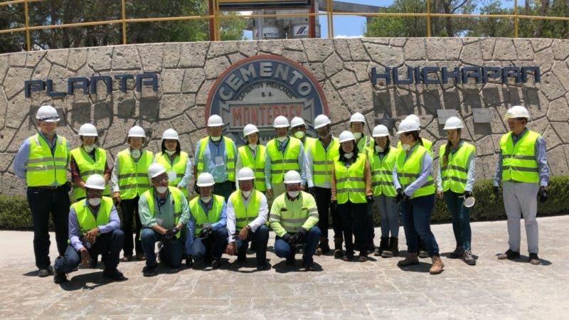 Participantes en la visita multipaís a México