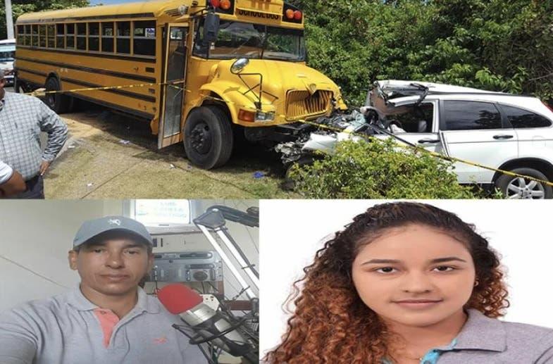 Muerte de periodista y su hijastra en carretera Sosúa ¿Accidente o suicidio?