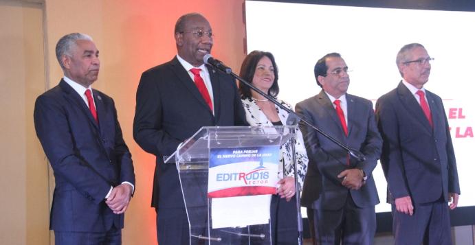Editrudis Beltrán presenta su programa de trabajo para rectoría de la UASD
