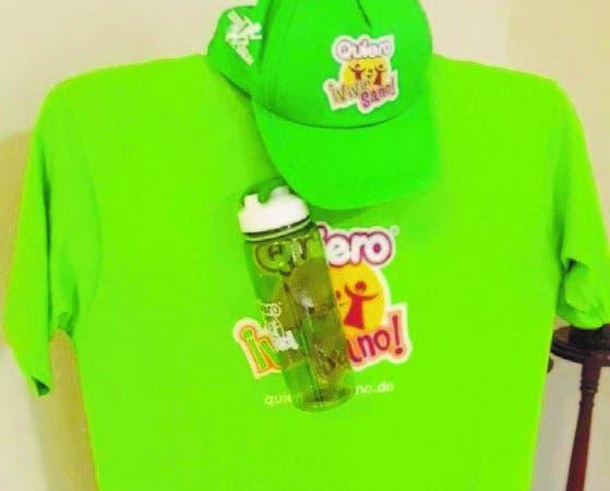 T-shirts promocionales  de la Feria de la Salud y el maratón.