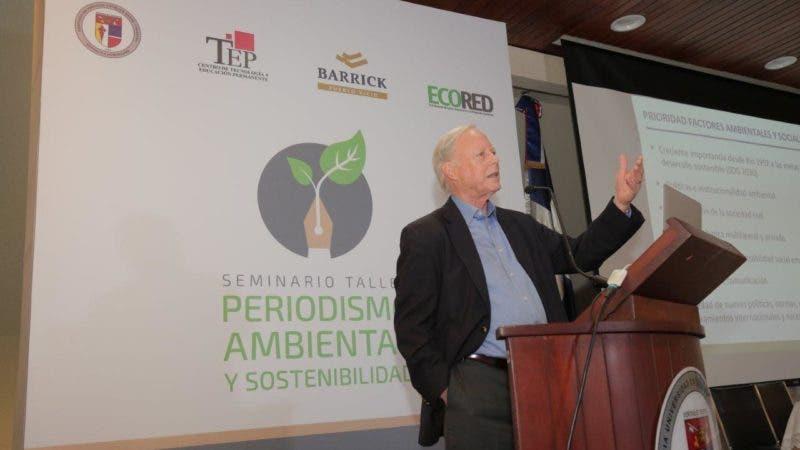 Walter Arensber, experto internacional en sostenibilidad.