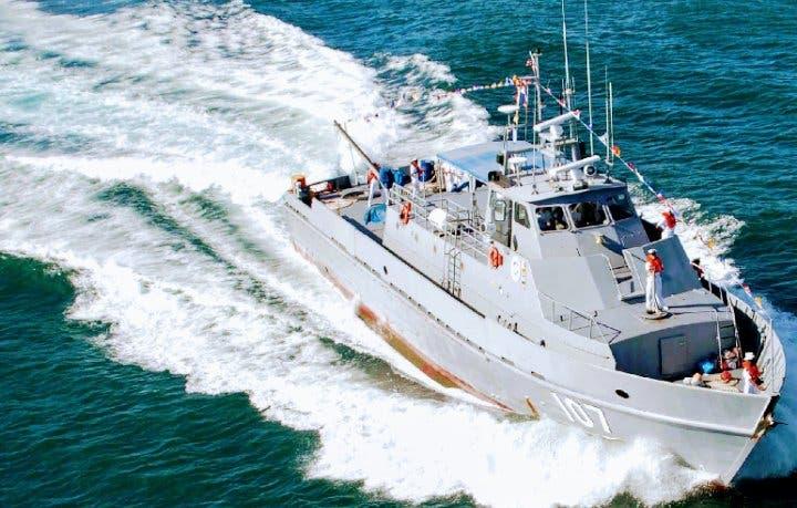 Armada decomisa cargamento ilegal de langostas en Samaná
