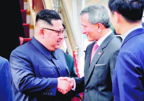 Trump y Kim Jong Un llegan  Singapur para histórica reunión
