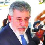Procurador sigue los interrogatorios por el caso de soborno de ODEBRECHT. En foto: Diaz Rua. 19-01-17 Foto: José Adames Arias