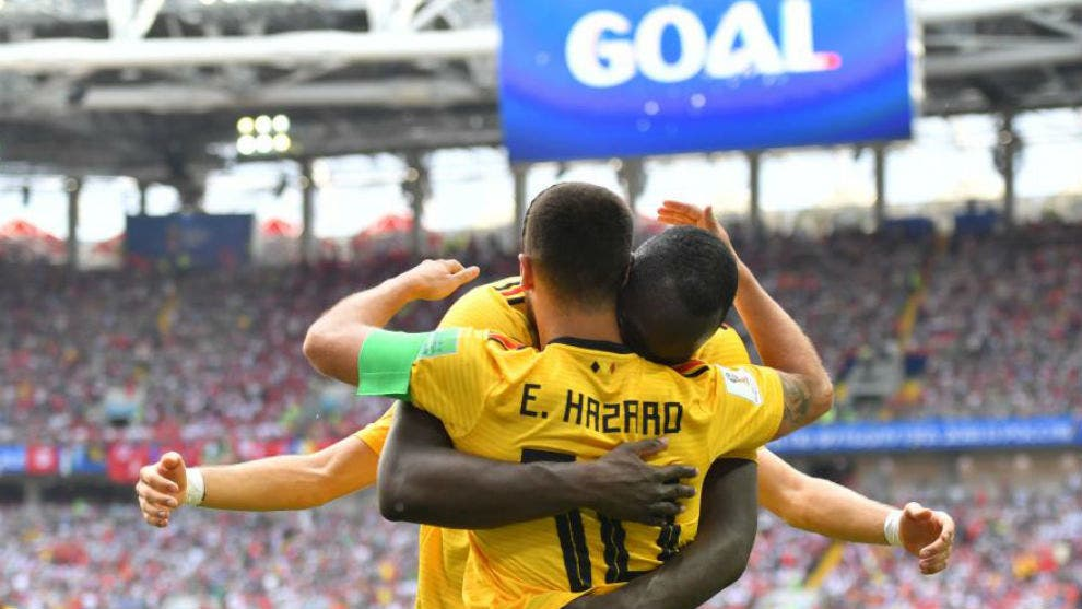 Bélgica golea a Túnez (5-2)