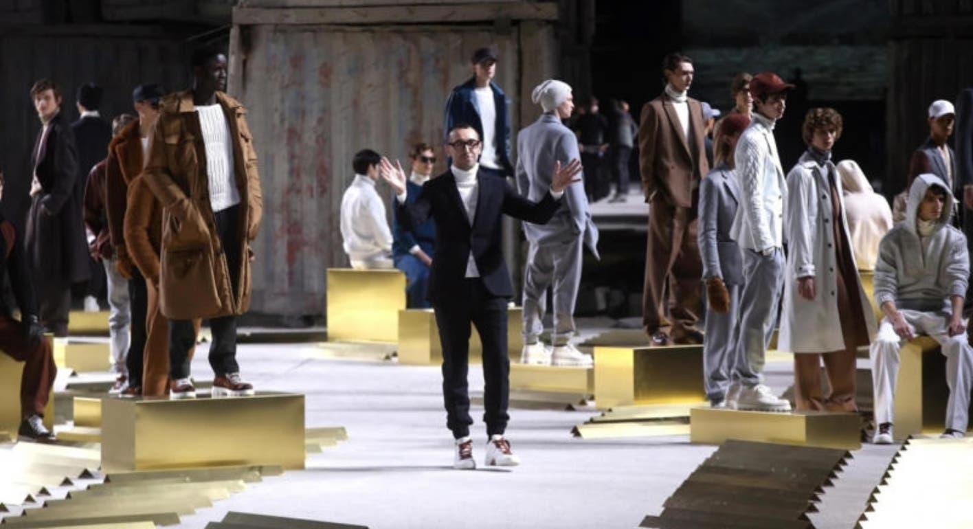 Ermenegildo Zegna inaugura la Semana de la Moda masculina  Milán
