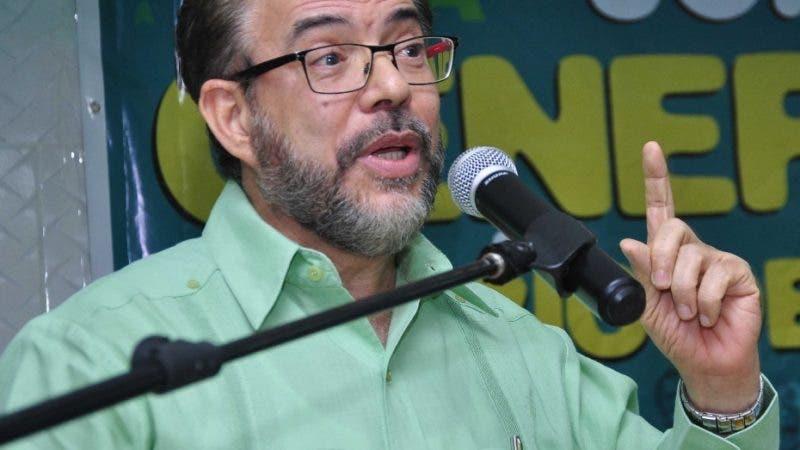 El pais. El presidente del partido Alianza Pais, Guillermo Moreno.Hoy/Pablo Matos