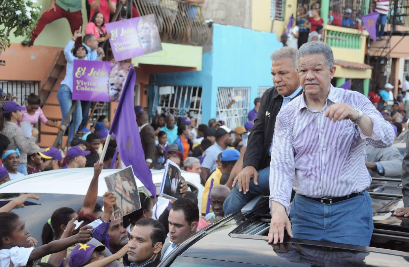 Leonelistas desafían  Junta; otros dirigentes respaldan