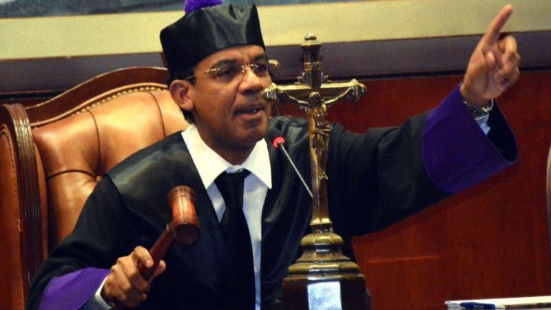 Juez Francisco Ortega Polanco/ José Adames Arias.