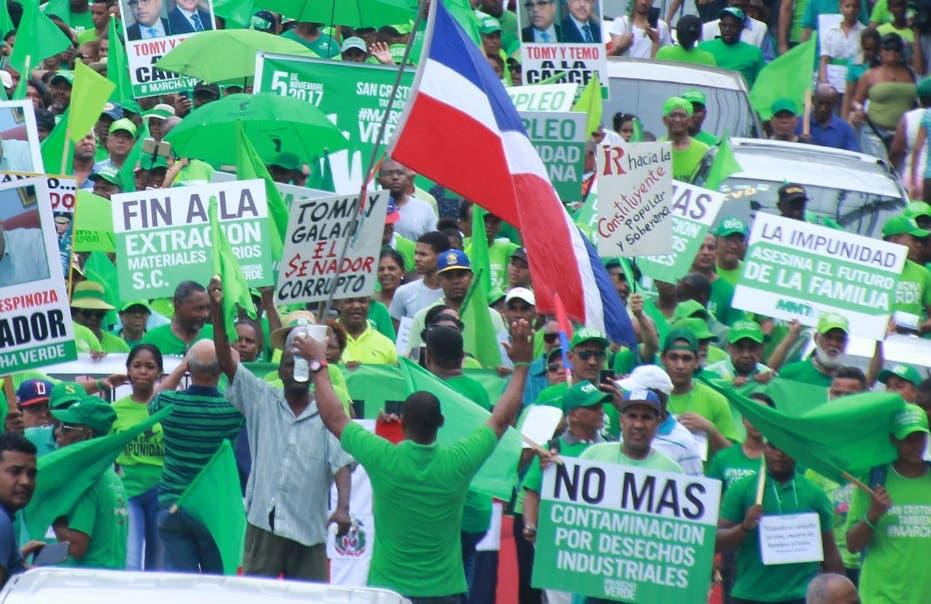 Advertencia de la Marcha Verde a Gobierno de Luis Abinader