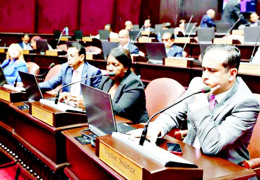 Danilistas buscan consensuar Ley Partidos salió del Senado