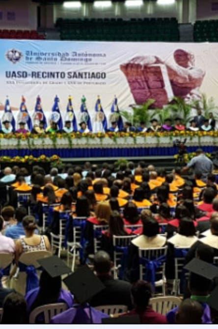Rector UASD pide a graduandos luchar por intereses país