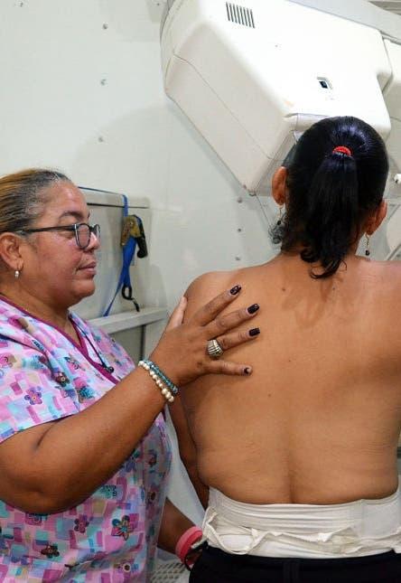 Hacen operativo de mamografías en Coraasan