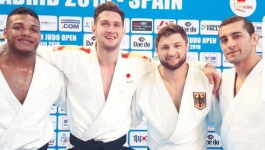Florentino y Del Orbe ganan en el Open Judo España
