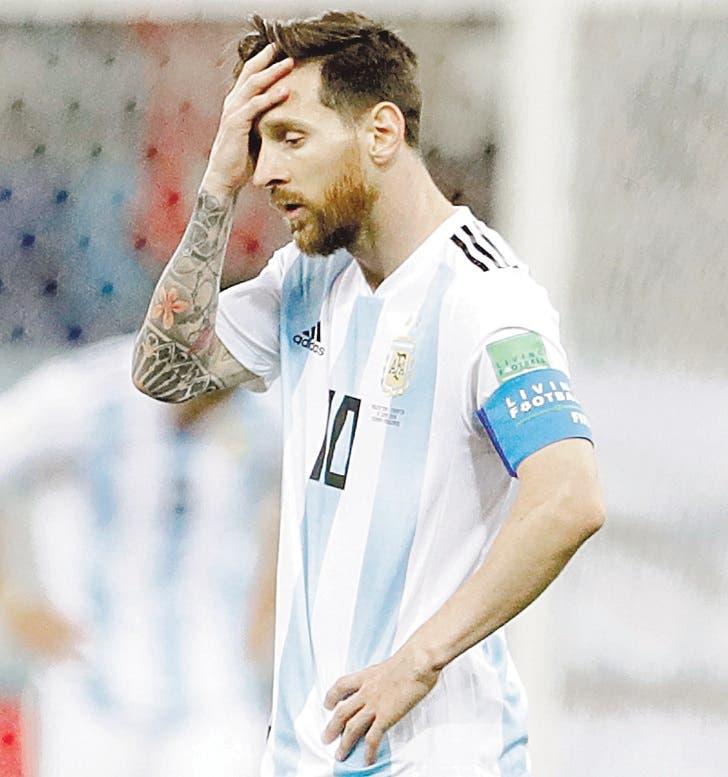 LIONEL MESSI Vio caer a Argentina