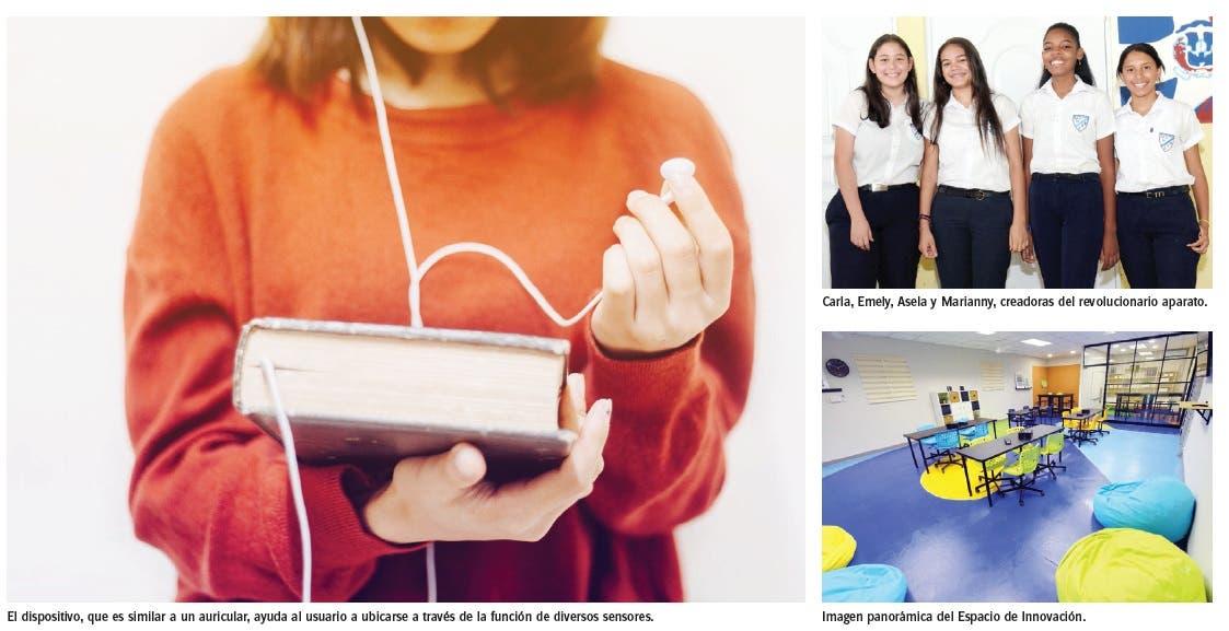 Estudiantes de Villa Tapia Crean dispositivo ubica a no videntes en entornos cerrados