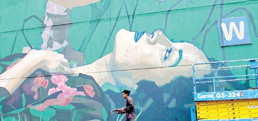 Central de Abasto México se viste de murales sostenibles