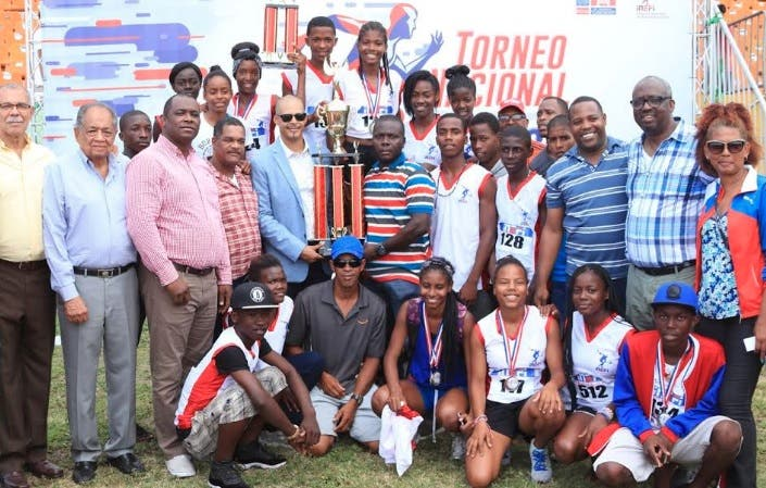 San Pedro de Macorís gana Torneo Nacional de Atletismo Escolar
