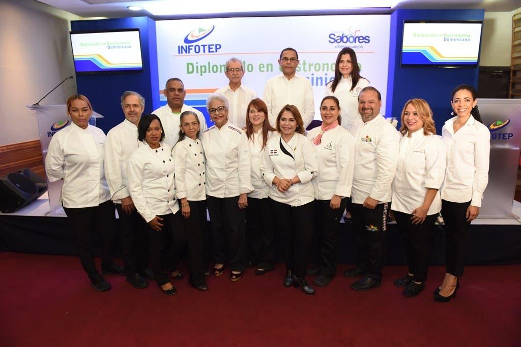 INFOTEP y Sabores Dominicanos abren primer diplomado en gastronomía dominicana