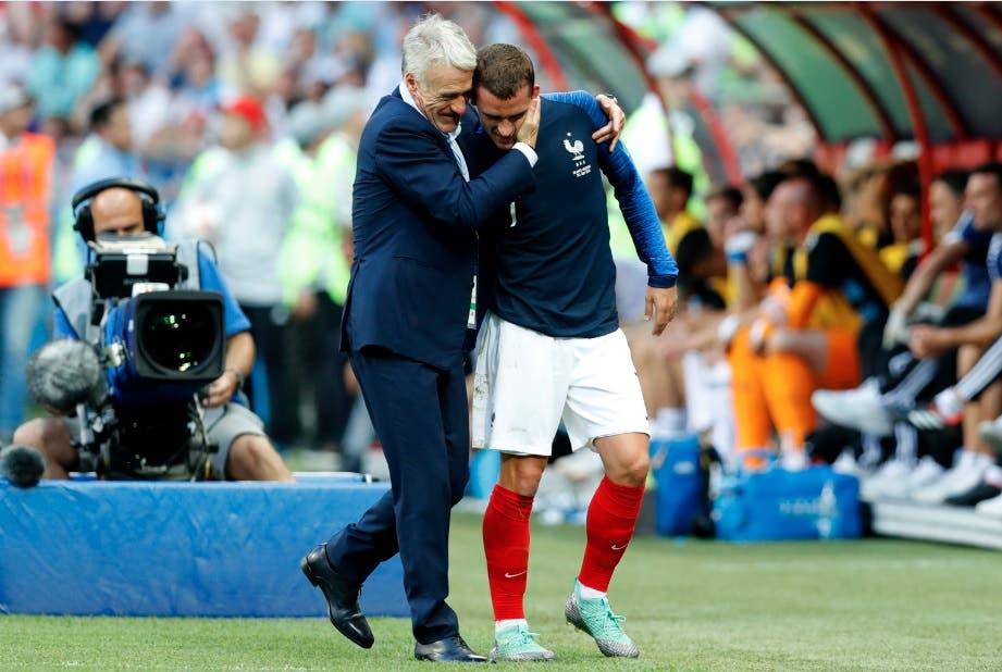 Didier Deschamps/AP