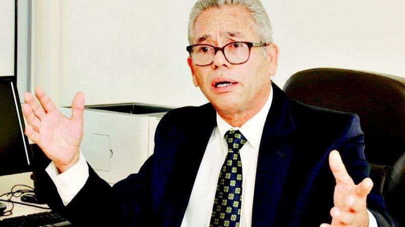 El candidato a la Rectoría de la UASD, Rafael Morla