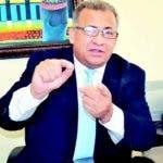El candidato a la Rectoría de la UASD, Ramón Peralta.
